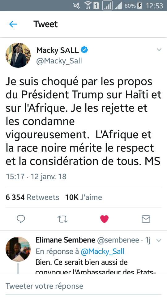 El Haj Kasse Assume La Faute De Conjugaison Sur Le Tweet De Macky