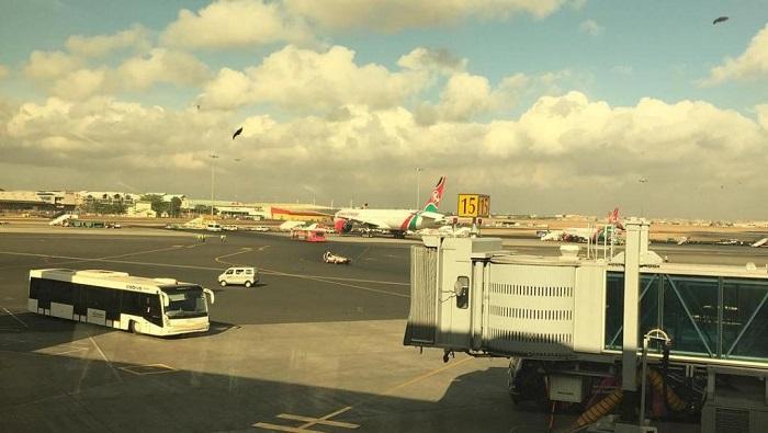Première ligne aérienne transatlantique de Nairobi à New-York