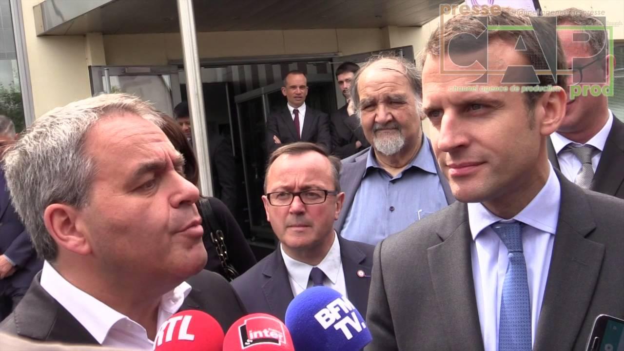 Vidéo-A Calais, Macron appelle les forces de l'ordre à ne pas confisquer les biens des migrants