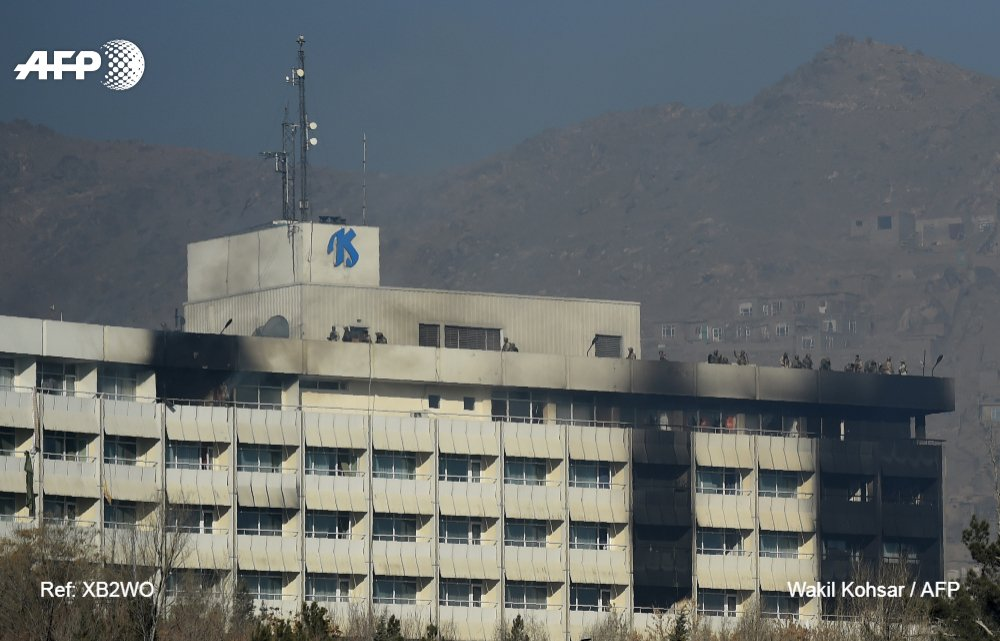 Kaboul : 12 heures de cauchemar et 6 morts dans un hôtel de luxe