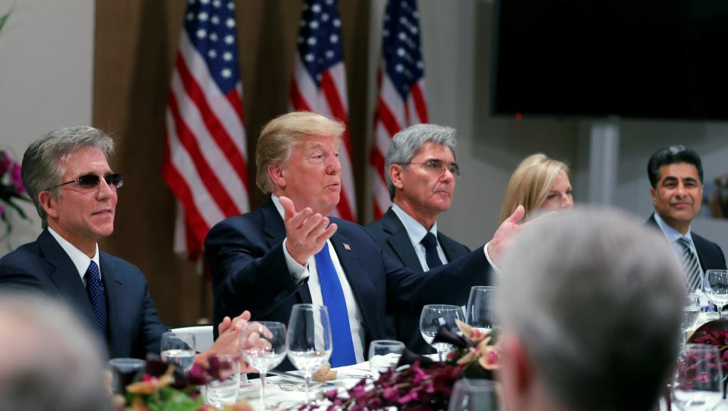 A Davos, deux visions du monde s'opposent