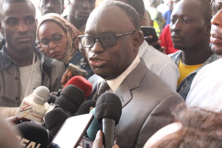 """Procès Khalifa Sall - Me El Hadji Diouf  aux journalistes : """"Vous êtes manipulés par le juge et..."""""""