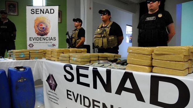 Paraguay : le chef d'un cartel de drogue arrêté