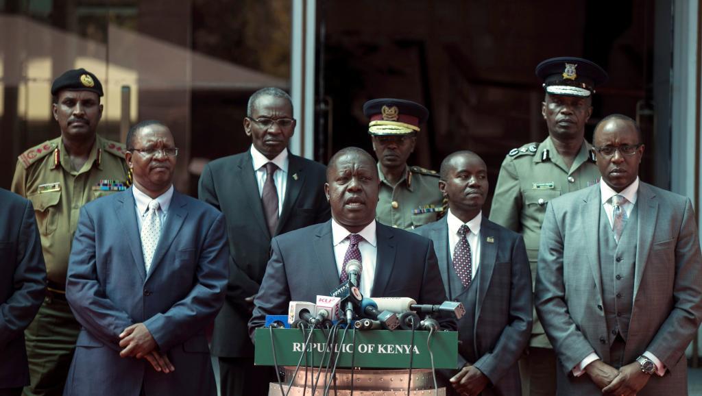 Kenya: contre-attaque du gouvernement après la prestation de serment d'Odinga