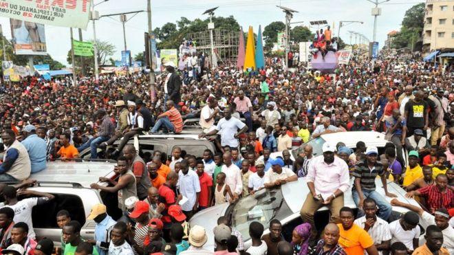Guinée: fin de la campagne des municipales