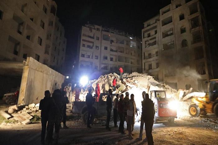 28 civils tués dans des raids à l'est de Damas au lendemain d'une attaque au chlore