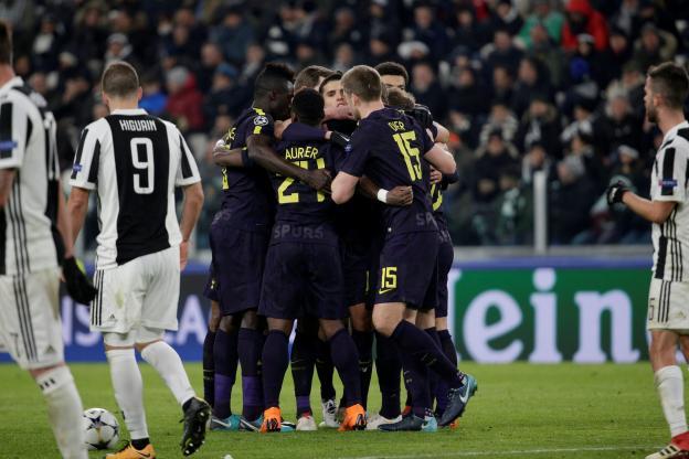 1/8e de finales aller Ligue des Champions : Juventus accrochée par Tottenham, City écrase Bâle