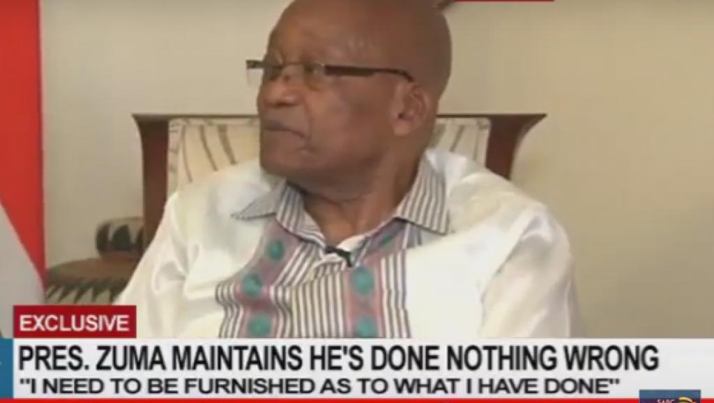 Afrique du Sud: le président Jacob Zuma n'a finalement pas annoncé sa démission