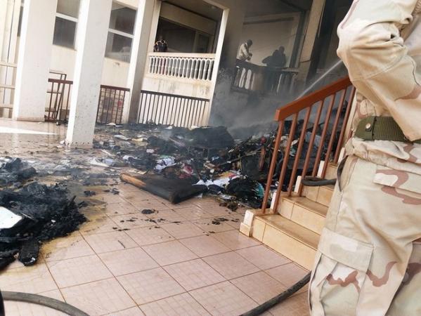 Incendie au ministère des affaires étrangères : Le ministre Tiéman Hubert Coulibaly doit s'expliquer