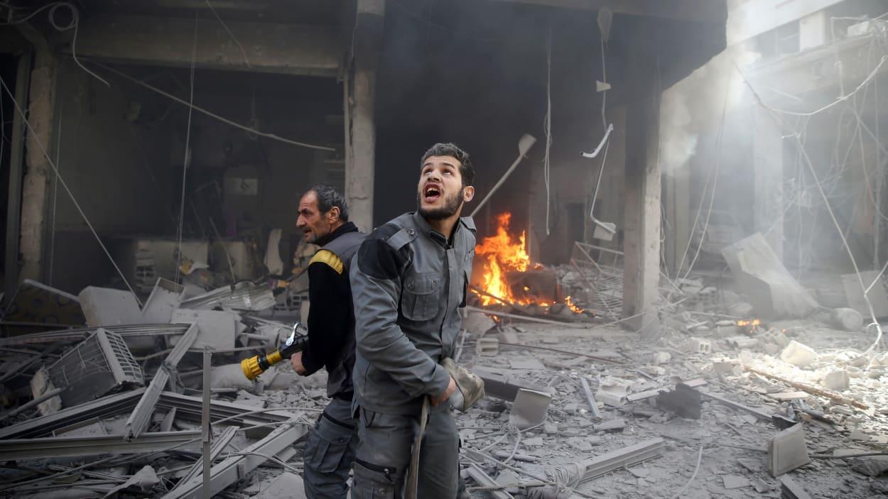 Ghouta Oriental : De nouveaux bombardements après le cessez-le-feu humanitaire de l'ONU