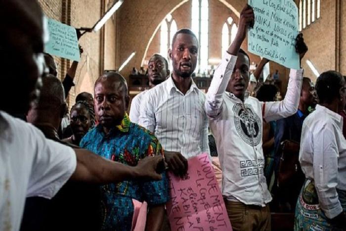 """RDC: marche des catholiques dispersée à """"balles réelles"""""""