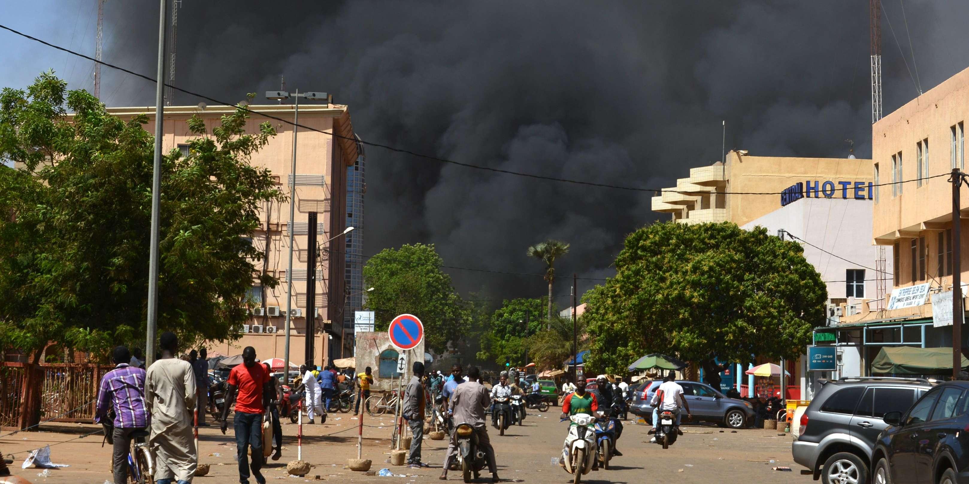 URGENT : incident armé, cette nuit, à Ouagadougou, au Burkina Faso