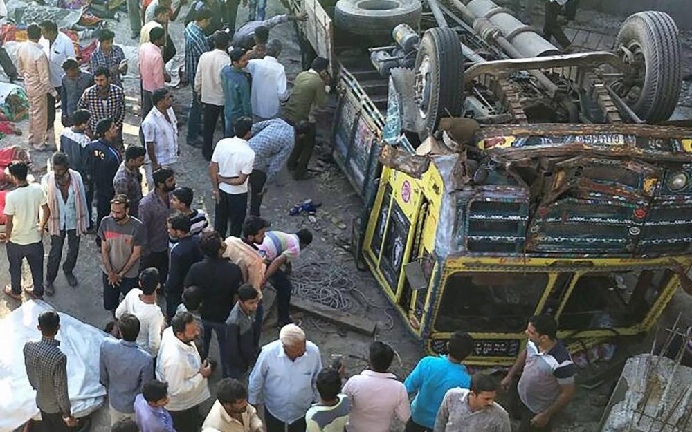 Inde : Au moins 25 morts dans un accident de camion