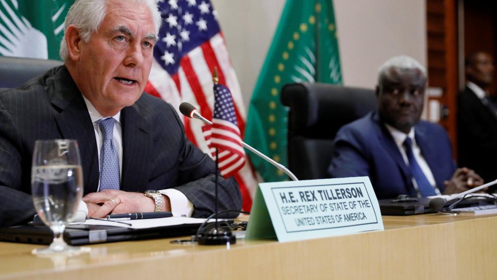 En visite en Ethiopie, Tillerson critique la présence chinoise en Afrique