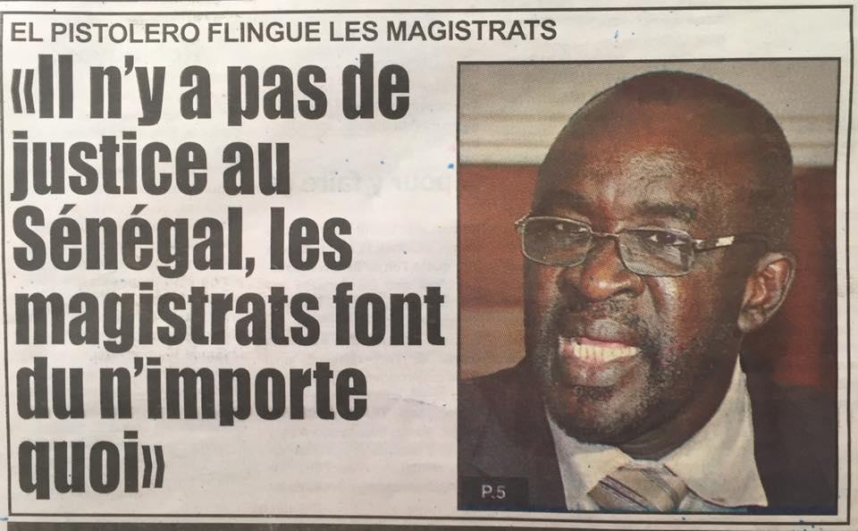 """Le journal """"Source A"""" même pas ébranlé par l'annonce de la plainte de Cissé Lo"""