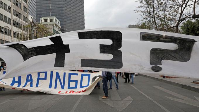 Mexique : arrestation d'un suspect dans la disparition de 43 étudiants
