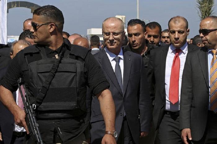 Tentative d'attentat contre le premier ministre palestinien à Gaza