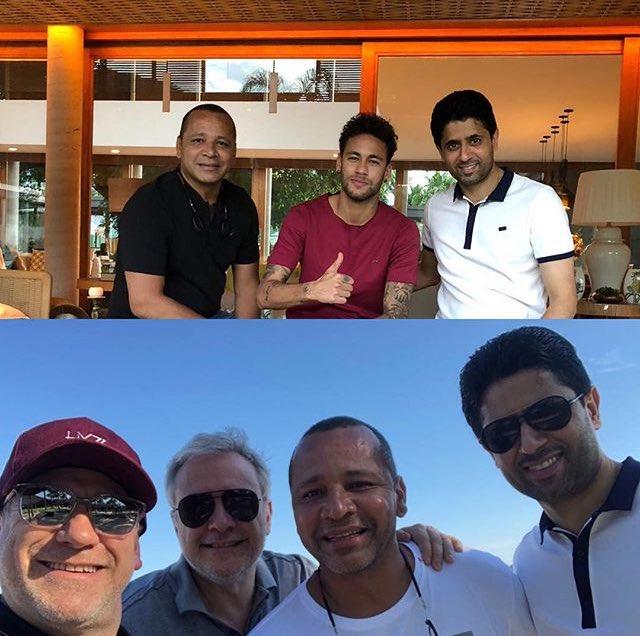Les dessous de la réunion entre Neymar et Al-Khelaïfi