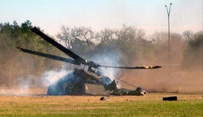 Urgent - Crash d'un hélicoptère de l'armée
