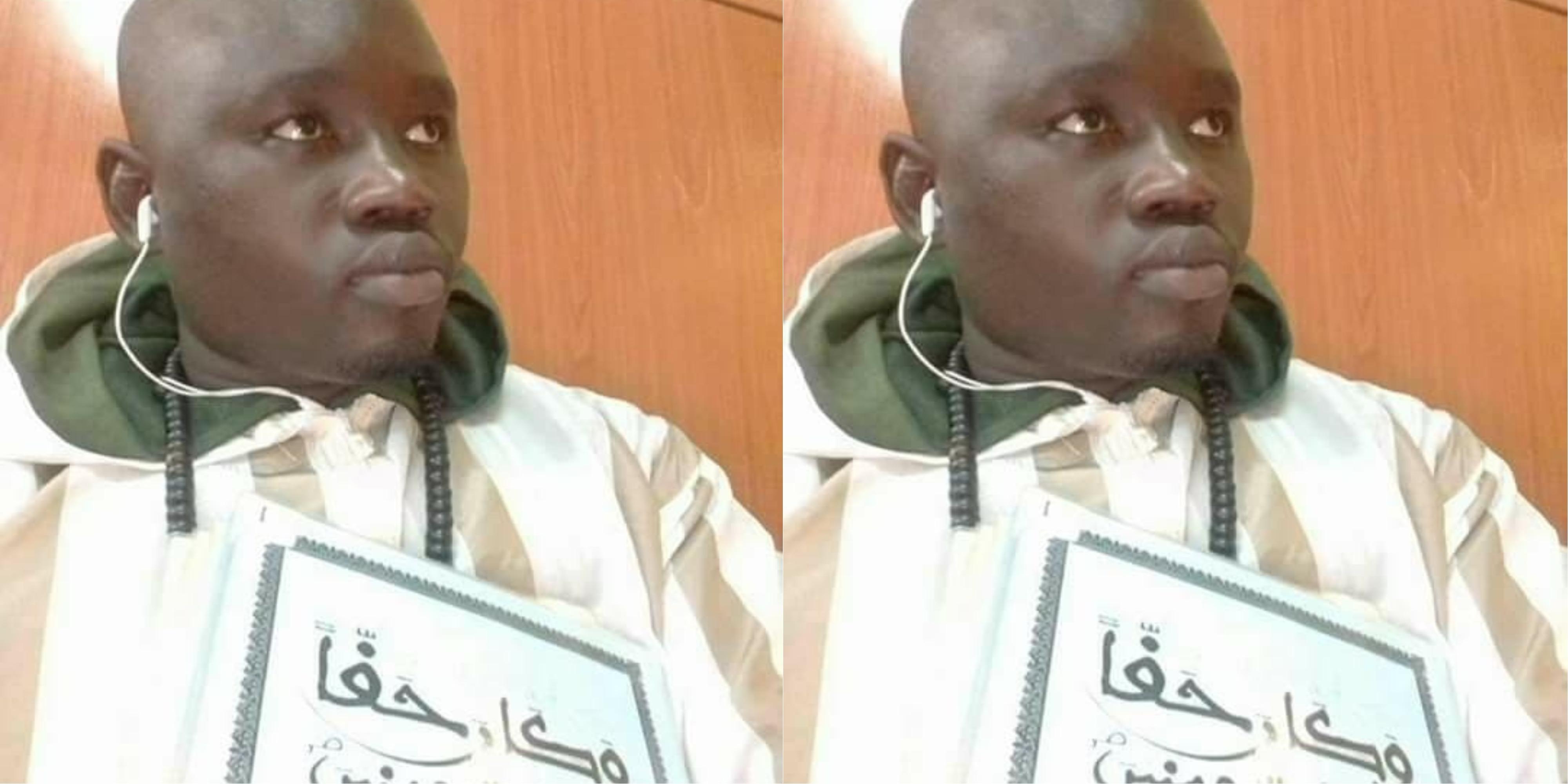 Mame Mbaye Ndiaye, ressortissant sénégalais mort par arrêt cardiaque le 15 mars 2018