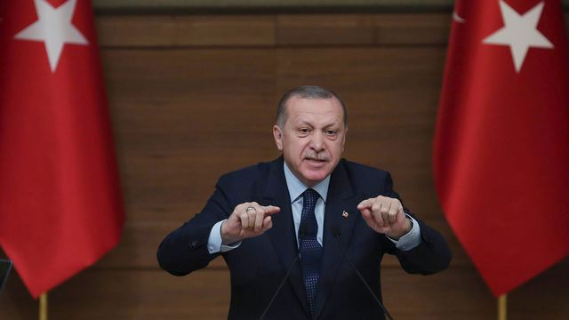 """Erdogan annonce le """"contrôle total"""" du centre-ville d'Afrine"""""""