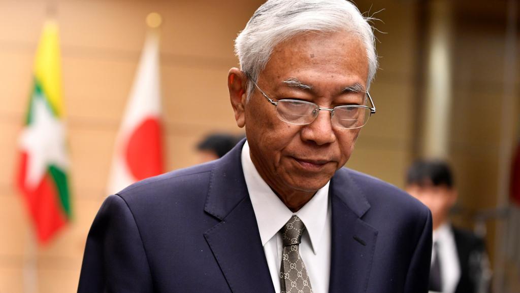 Démission du président birman, un proche d'Aung San Suu Kyi