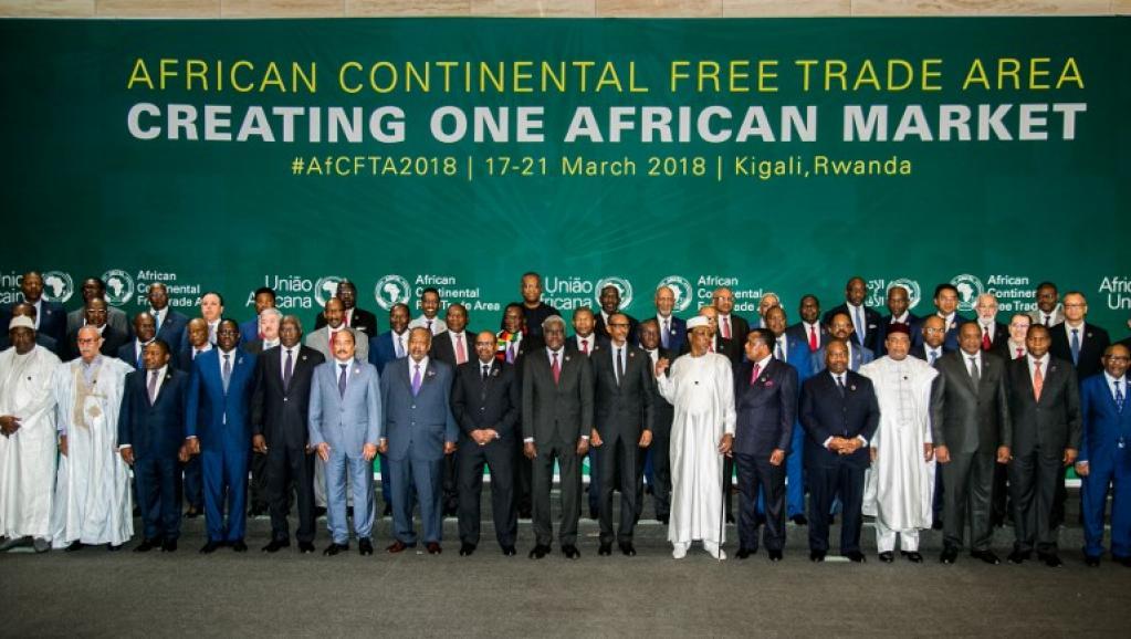 UA: 44 pays signent un accord pour une Zone de libre-échange continental