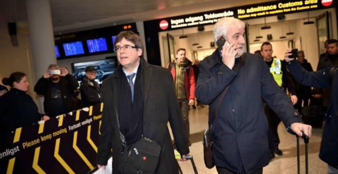 L'ex-Président de la Catalogne Puigdemont arrêté en Allemagne
