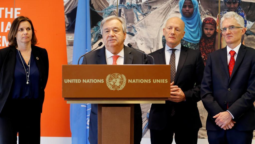 Guerre au Yémen: l'ONU récolte 2 milliards de dollars d'aides d'urgence