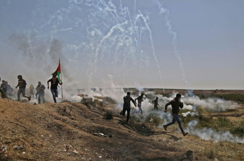  2 Palestiniens tués et 250 blessés par des soldats israéliens