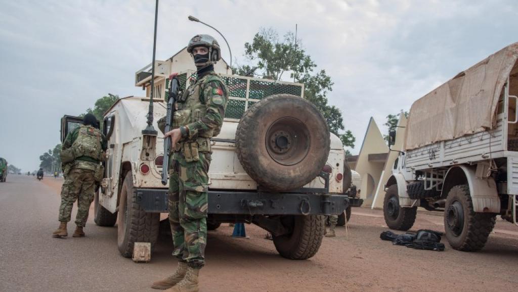 Centrafrique: un camp de casques bleus de l'ONU attaqué à Bangui