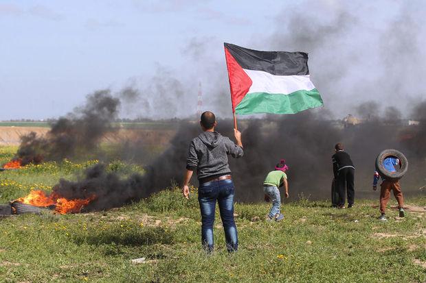 Quatre Palestiniens tués dans une explosion près de la frontière israélienne à Gaza