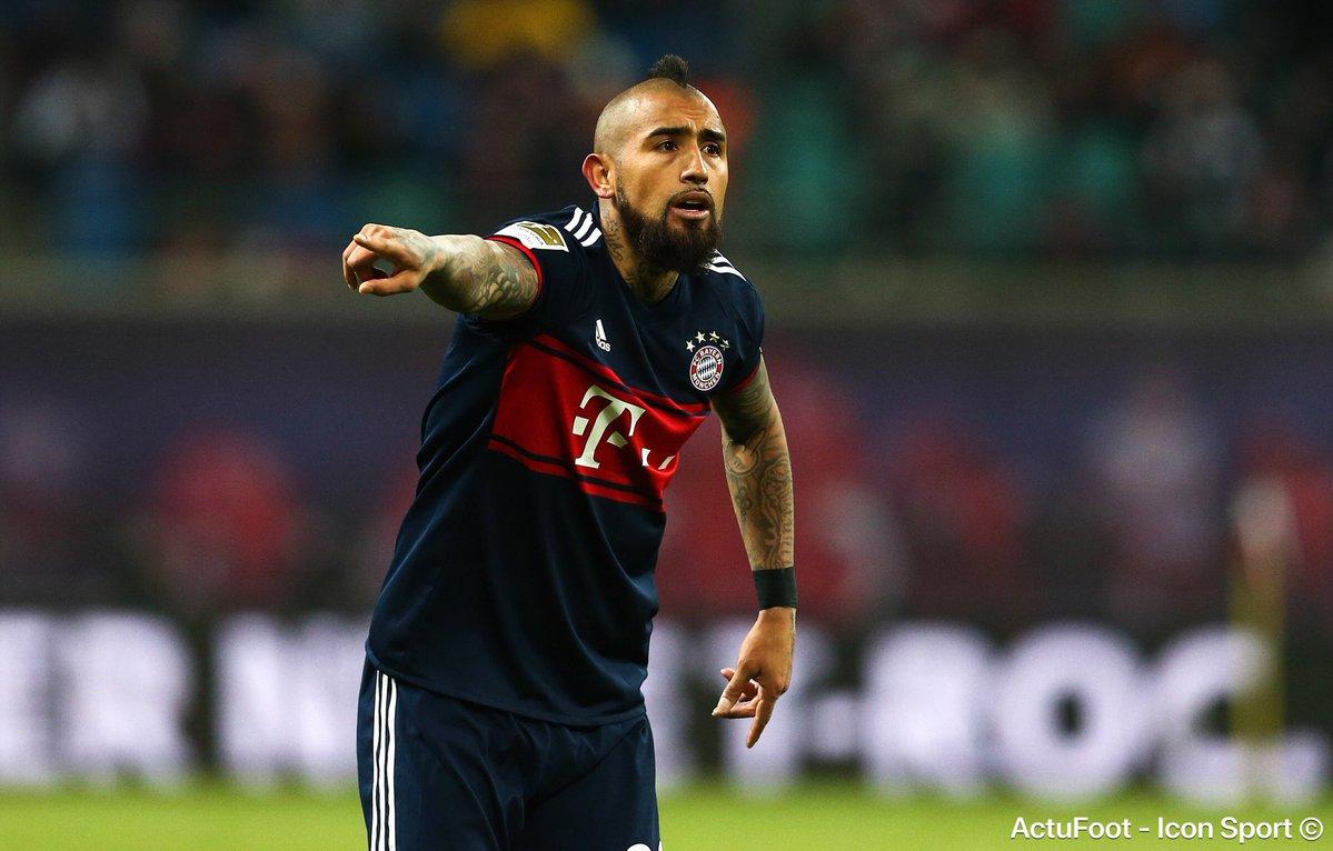 Officiel !!! Arturo Vidal forfait jusqu'à la fin de la saison