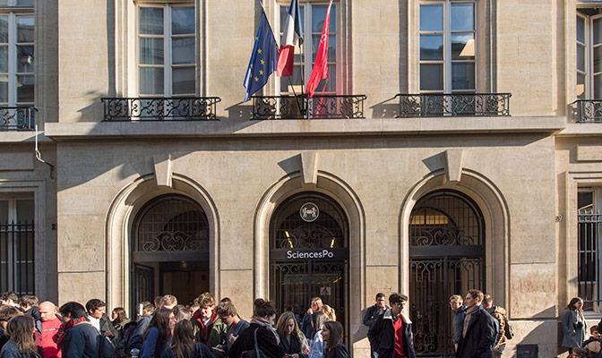 France: l'accès principal à Sciences Po Paris bloqué