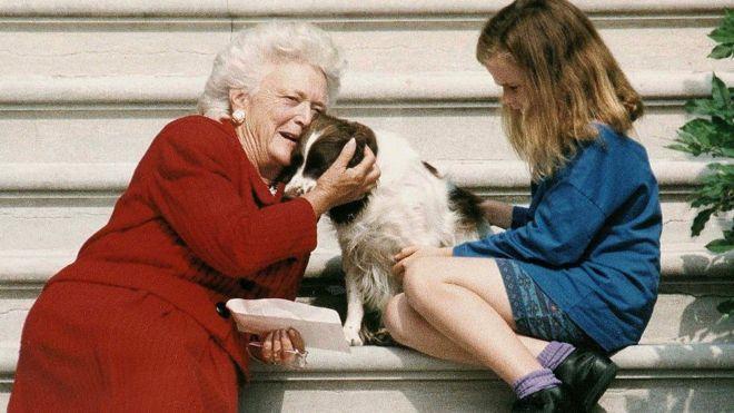 Etats-Unis : la mère du président Bush décédée
