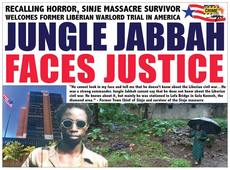 L'ex-rebelle libérien «Jungle Jabbah» condamné à 30 ans de prison aux Etats-Unis