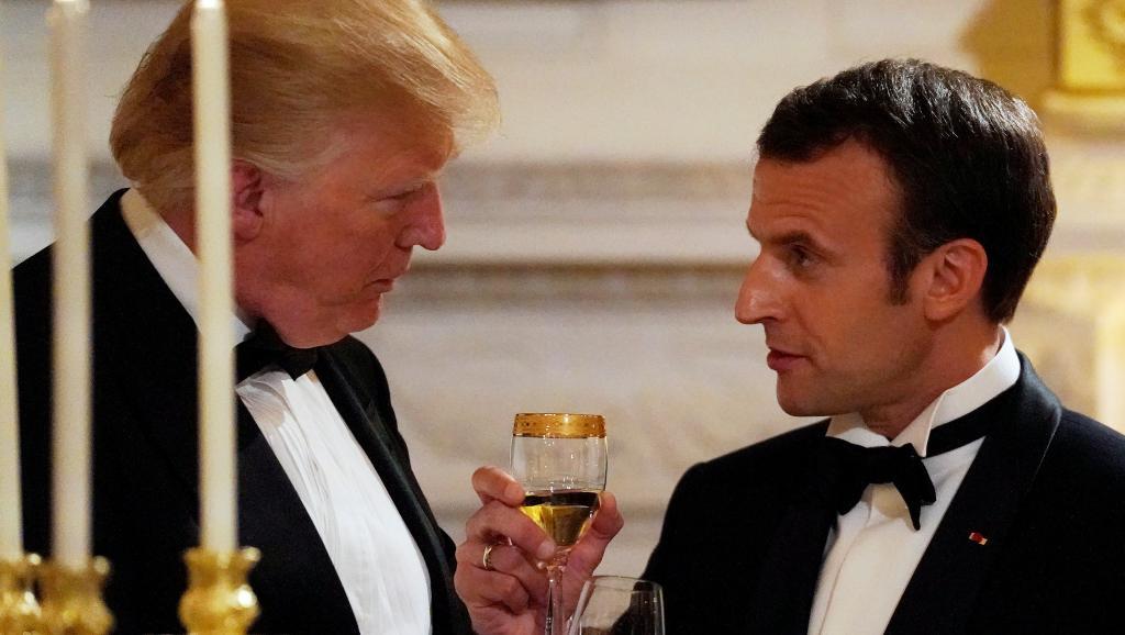 Macron aux Etats-Unis: la rude journée du président français