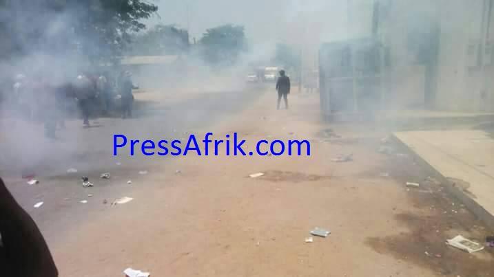 Crise scolaire : Affrontements entre élèves et forces de l'ordre à Sédhiou