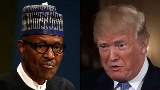Trump reçoit Buhari
