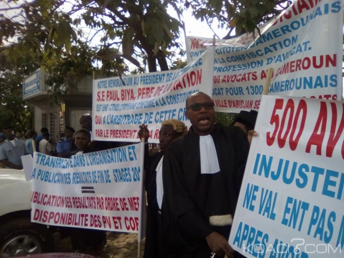 Cameroun: La police interdit une manifestation d'avocats à Yaoundé