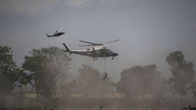 Un millier d'otages libérés par l'armée nigériane