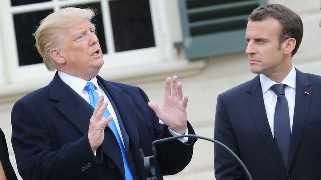 Selon le New York Times, Trump a dit à Macron qu'il va sortir de l'accord sur le nucléaire iranien