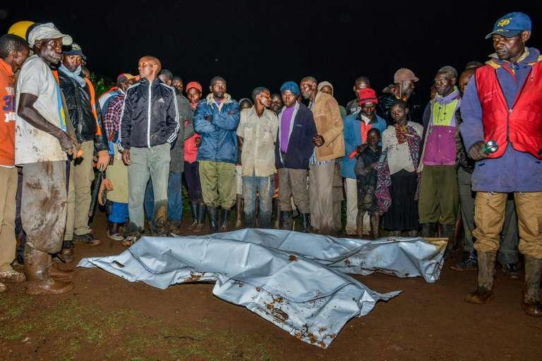 20 morts dans le rupture d'un barrage au Kenya