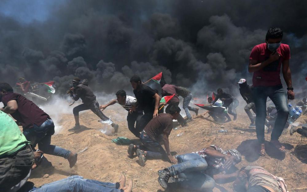 En direct - Gaza : au moins 55 Palestiniens tués par des tirs israéliens