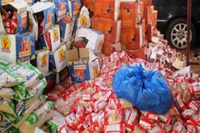 Kaoclack : 5 tonnes de pâtes alimentaires impropres à la consommation saisies par le Src