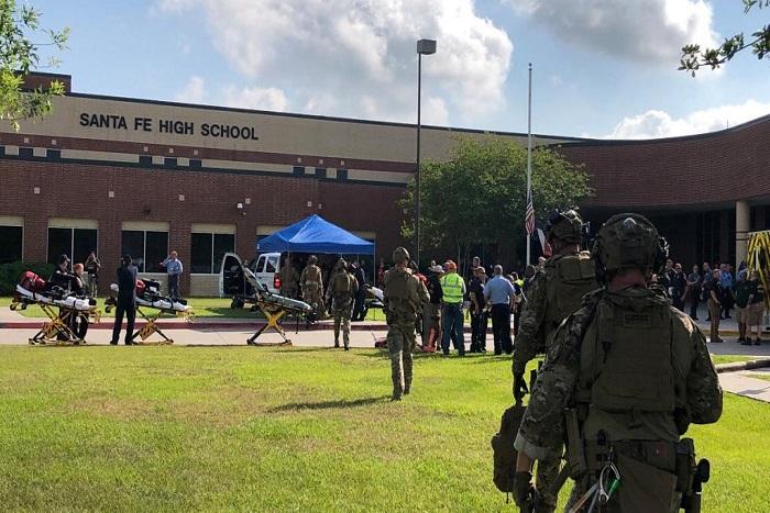 Etats-Unis: une fusillade dans un lycée au Texas fait plusieurs morts