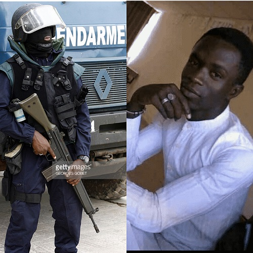 Mort de Fallou Sène: le présumé tireur lieutenant Sané brandit la légitime défense