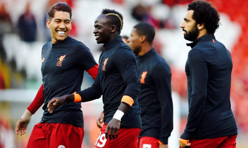 Le Onze de départ de Liverpool avec le trio Mané-Salah-Firminho