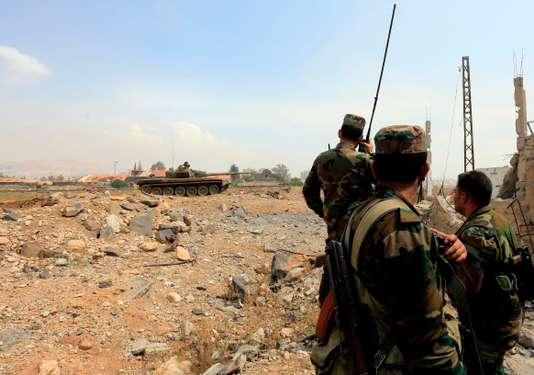 Regain d'activité du groupe Etat islamique en Syrie