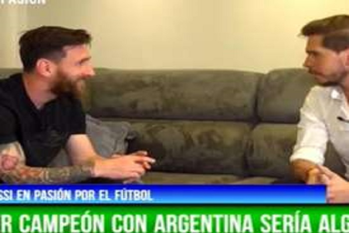 Lionel Messi : « Ça ne m'est pas venu à l'idée de jouer avec l'Espagne »